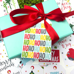 Traditional Christmas Printable Gift Tags - Happy joy Decor