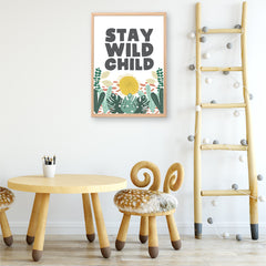 Stay Wild Printable Art - Happy Joy Decor
