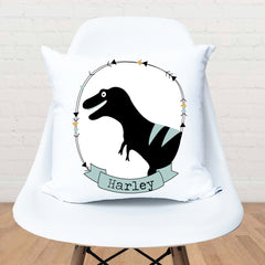 T-Rex Personalised Cushion - Happy Joy Decor