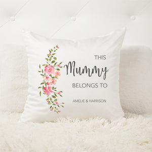 Belongs To Personalised Cushion - Mothers Day Gifts - Happy Joy Decor