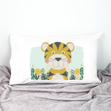Load image into Gallery viewer, Tiger Pillowcase - Happy Joy Decor