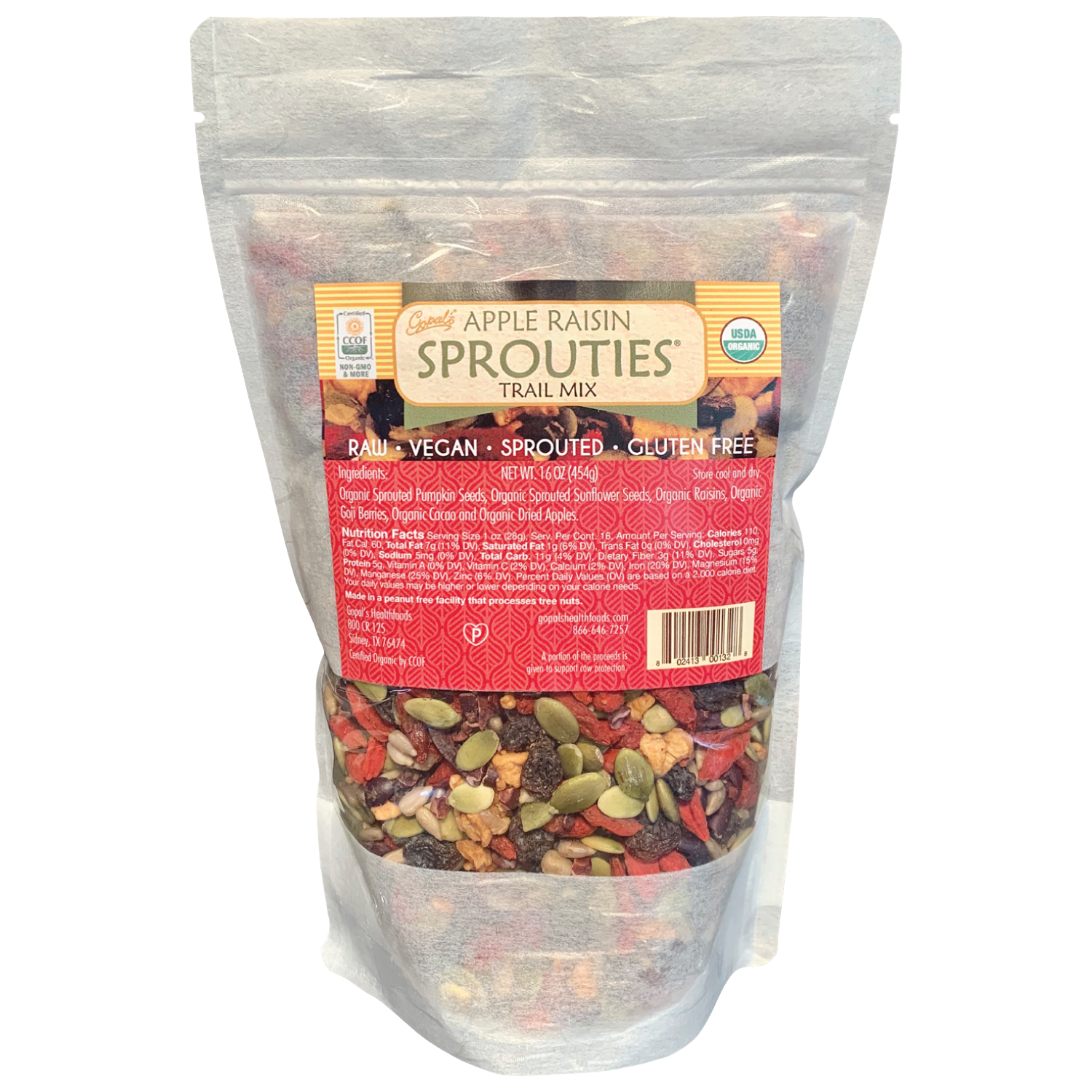 Apple Raisin Sprouties® Trail Mix 16oz