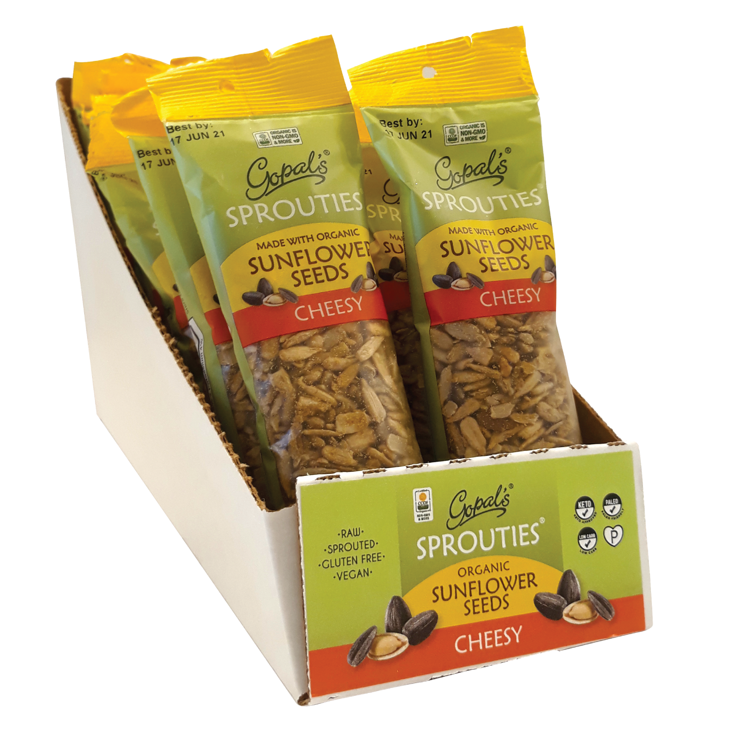 Cheesy Sunflower Seed Sprouties®