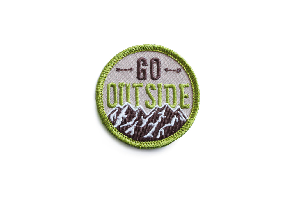"""Go Outside"" Patch"