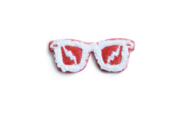 Red Sunglasses Patch