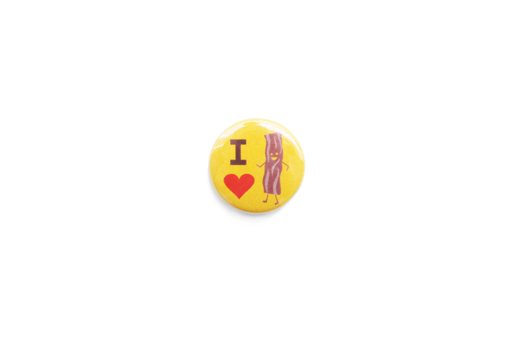 """I love bacon"" Badge"