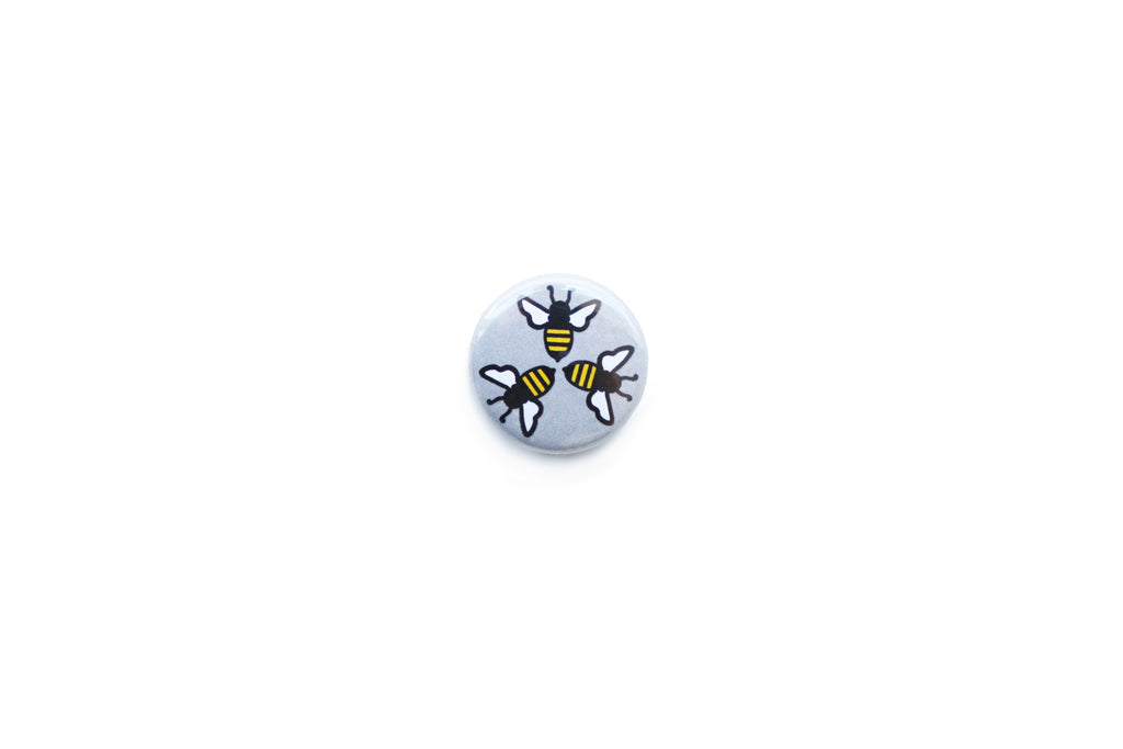 3 Bees Badge