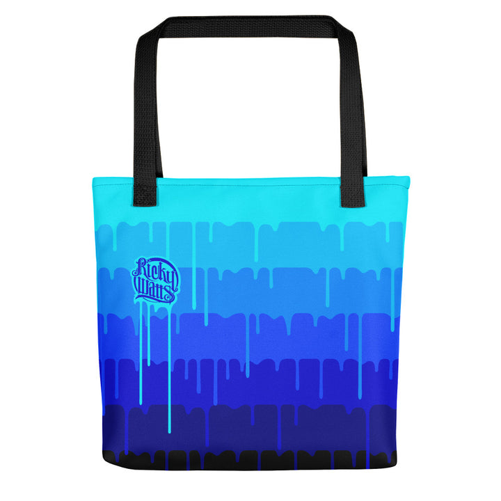 Melting Tote Blue - 15x15 Tote Bag