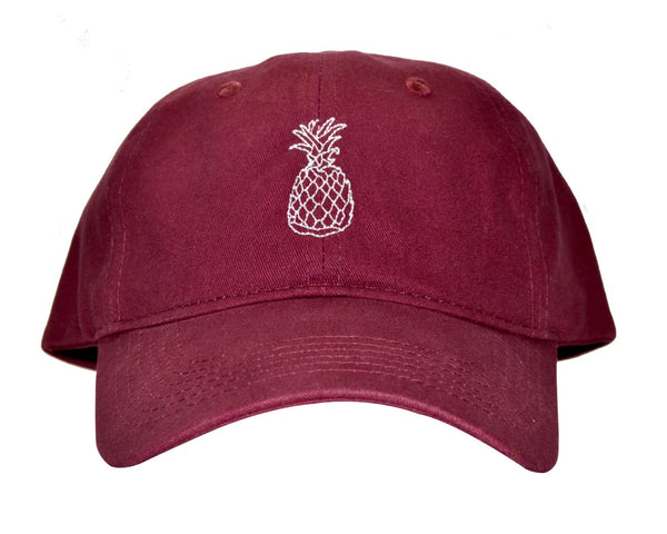 The Hospitality Maroon Hat