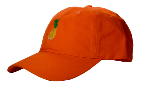 The Pineapple Orange Hat