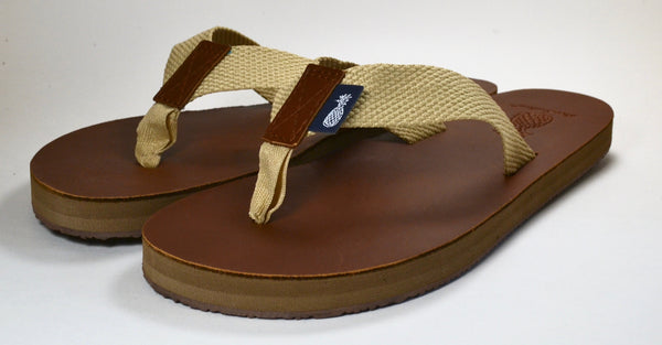 The Gentleman's Natural Strap Southern Leather Sandal