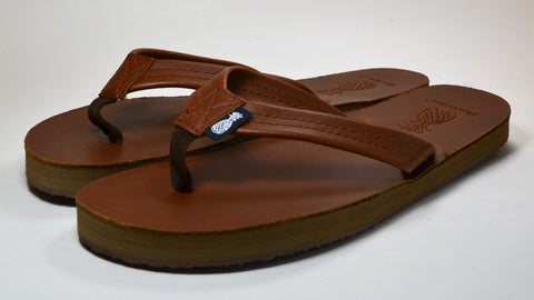 Lady's Southern Leather Sandal - Sweet Tea