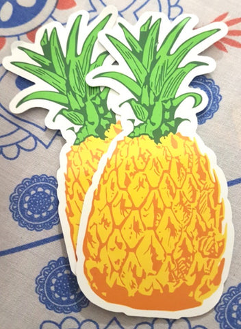 The Port Southern Pineapple Sticker