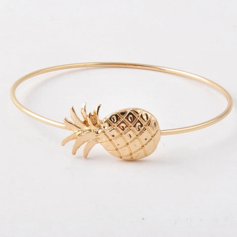 The Port Southern Gold Pineapple Bangle