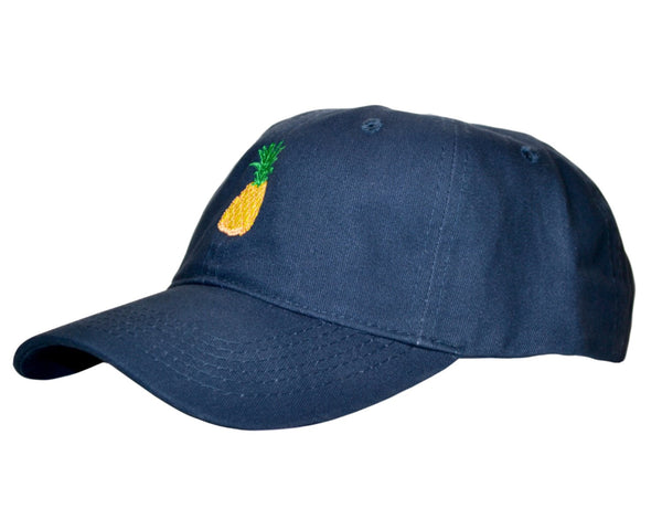 The Pineapple Navy Blue Hat