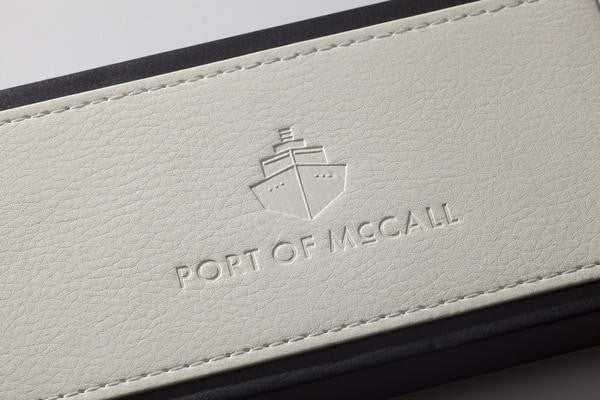 "Port of McCall's ""Crystal Coast"" Watch with N.A.T.O Strap"