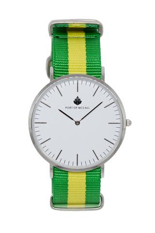 "Port of McCall's ""Brad Bay"" Watch with N.A.T.O Strap"