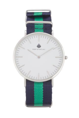 "Port of McCall's ""Emerald Isle"" Watch with N.A.T.O Strap"