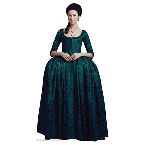 Outlander Claire Fraser Life-Size Standee, French Finery