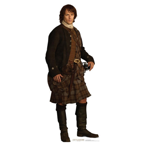 Outlander Jamie Fraser Life-Size Standee, Scottish Outfit
