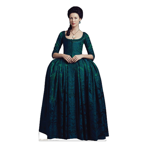 Claire Fraser in French Finery Life-Size Standee from Outlander