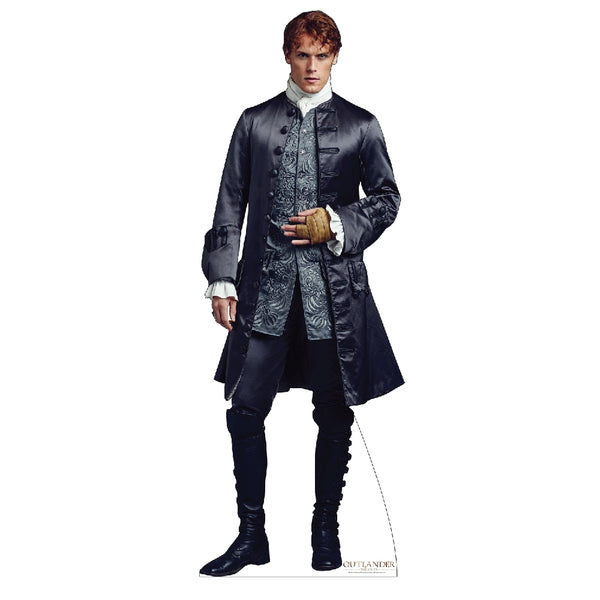 Jamie Fraser in French Finery Life-Size Standee from Outlander