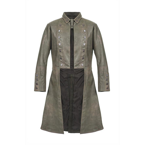 Outlander Men's Fit Jamie Fraser's Leather Coat