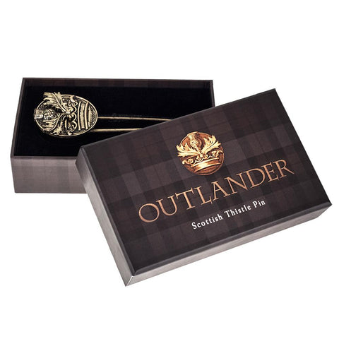 Outlander Scottish Thistle Pin