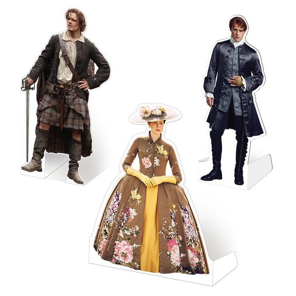 Outlander Pocket Standee Set of Three