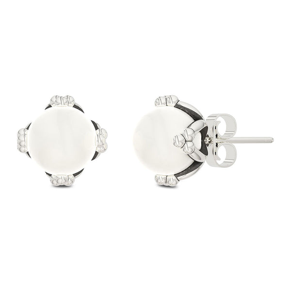 Outlander Pearl Stud Earrings designed by BIXLER