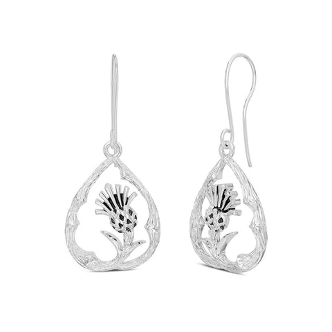 Outlander Thistle Earrings designed by BIXLER