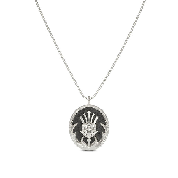 Outlander Crest Pendant Necklace designed by BIXLER