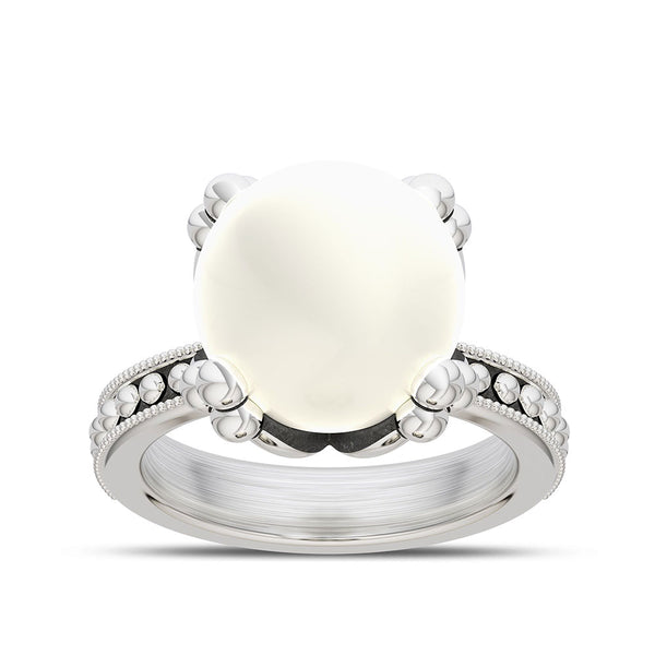 Outlander Pearl Ring designed by BIXLER