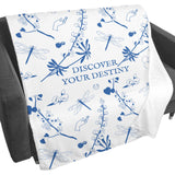 Discover Your Destiny Fleece Blanket from Outlander
