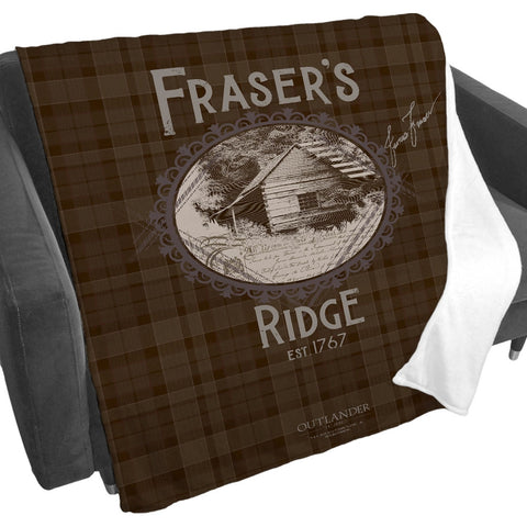 Fraser's Ridge Blanket from Outlander