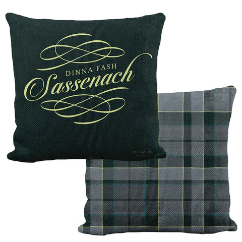 Sassenach Tartan Pillow from Outlander
