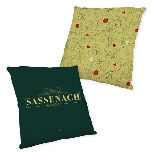 Sassenach Leaves Pillow from Outlander