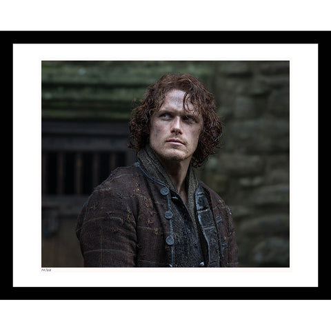 Outlander Mac Dubh Framed Print
