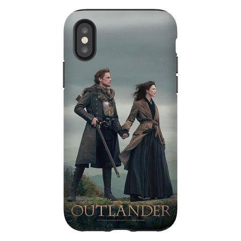 Outlander Claire and Jamie Phone Case