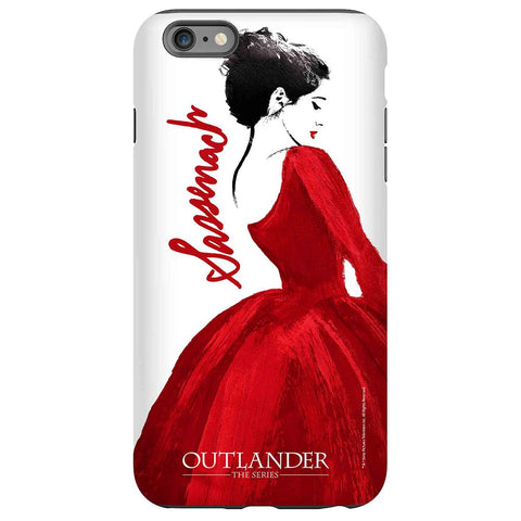 Outlander Red Dress Phone Case