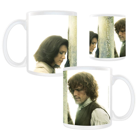 Outlander Jamie And Claire Close Up Season 3 Mug