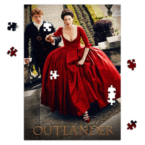 252-Piece Claire and Jamie in Versailles Jigsaw Puzzle from Outlander