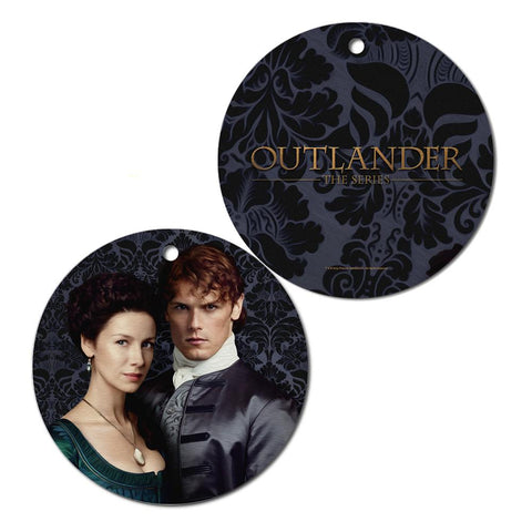 Outlander Jamie And Claire Ornament