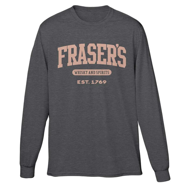 Fraser's Whisky & Spirits Long Sleeve T-Shirt from Outlander