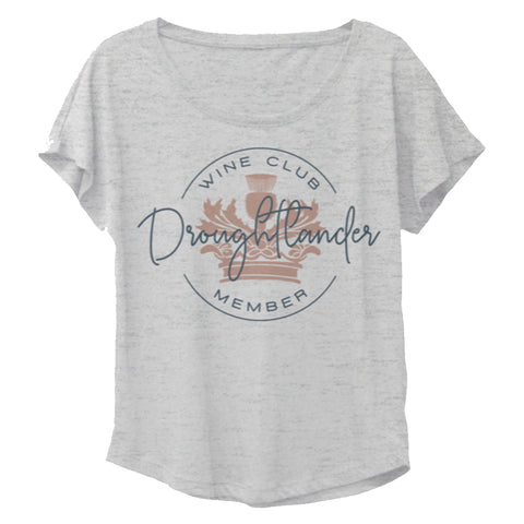 Droughtlander Wine Club Member Dolman Tee from Outlander