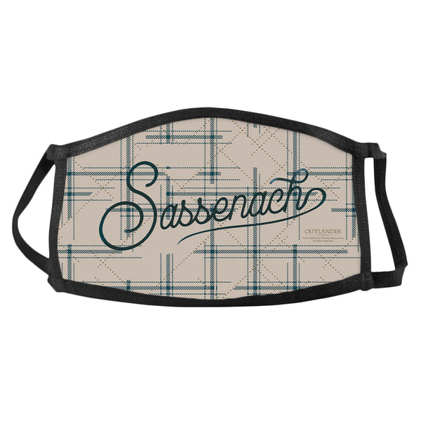 Sassenach Pattern Face Mask from Outlander