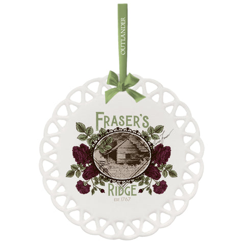 Outlander Dinna Fraser's Ridge Ornament