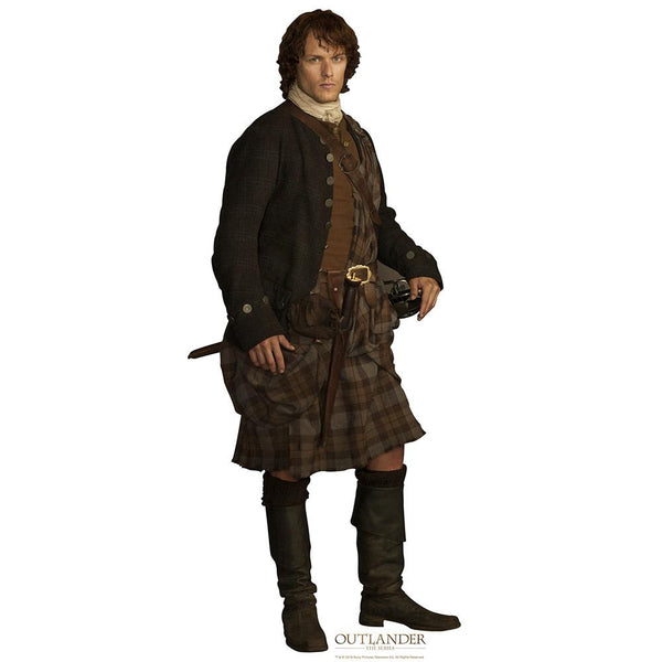Outlander Pocket Jamie Standee