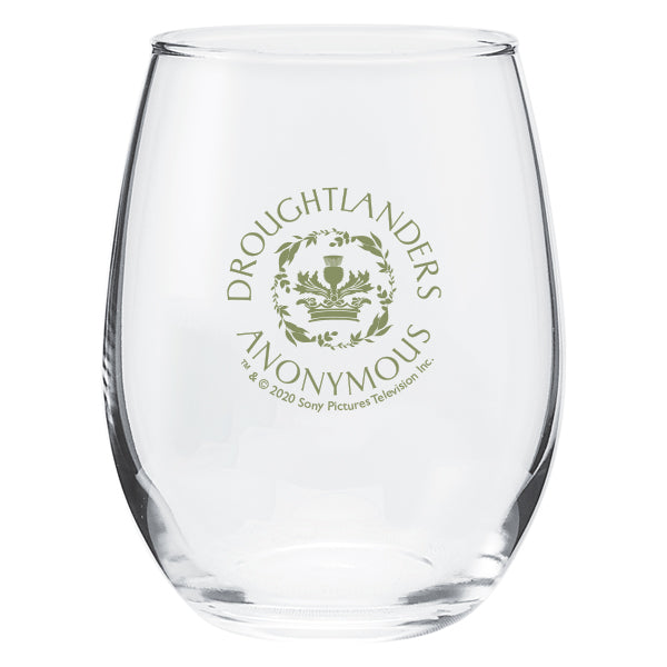 Droughtlander Anonymous Stemless Wine Glass from Outlander