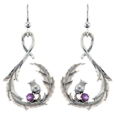 Outlander Thistle Earrings by RockLove